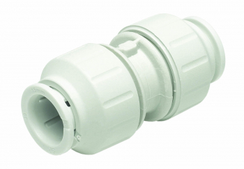 Straight Coupler White