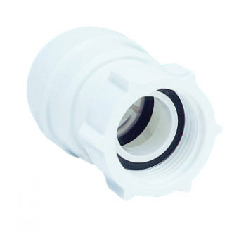 Female Coupler White - Tap Connector