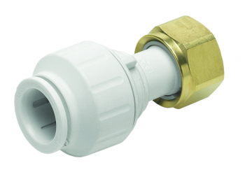 Straight Tap Connector White