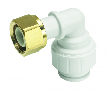 Bent Tap Connector White