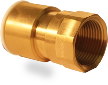 Brass Female Coupler