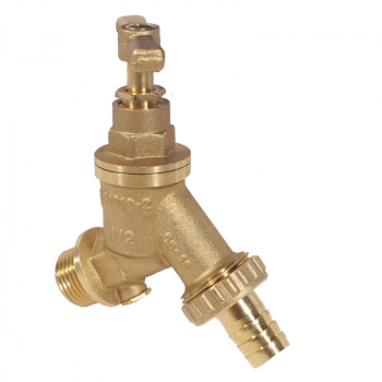Hose Union Bib Tap c/w Double Check Valve
