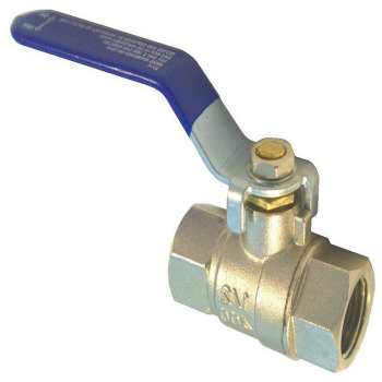 Blue Lever Ball Valve F x F WRAS Approved