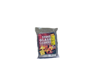 Steel Wool Pad Glass Cleaner 2 Sponges
